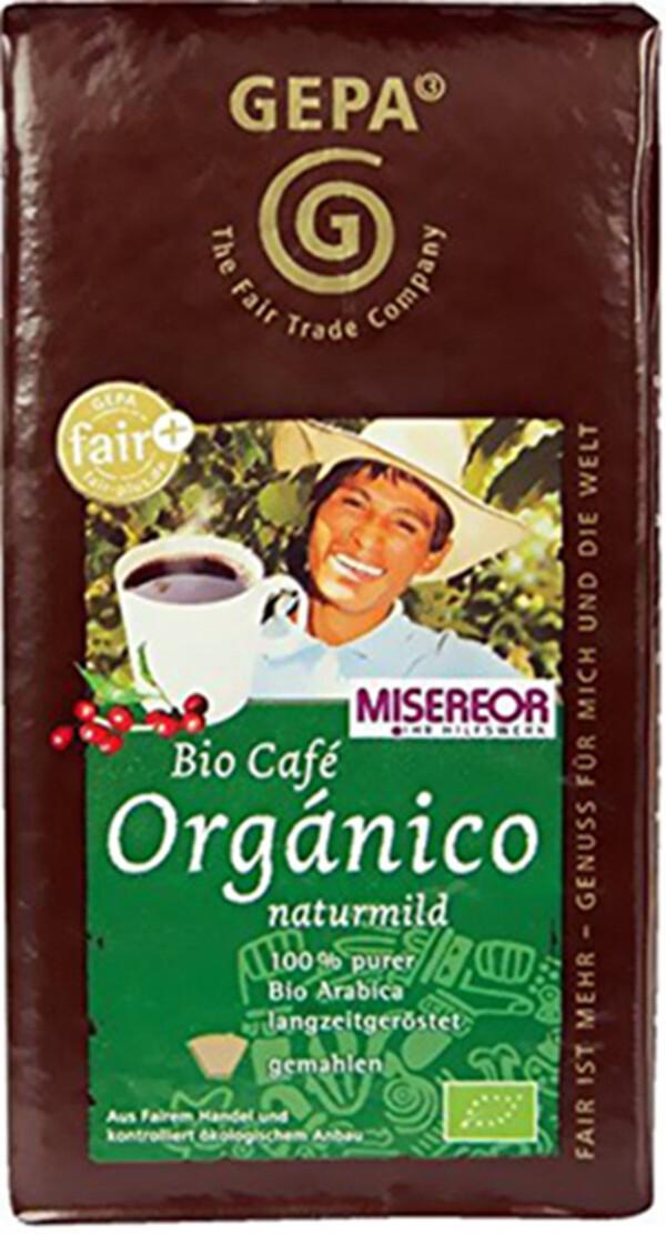 GEPA Bio Café Orgánico naturmild gemahlen 500 g