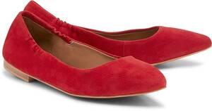 Stretch-Ballerina von COX in rot für Damen. Gr. 37,38,39,40,41