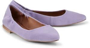 Stretch-Ballerina von COX in lila für Damen. Gr. 36,37,38,39,40,41