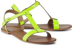 Sommer-Sandale von COX in gelb für Damen. Gr. 37,38,39,40