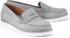 Penny-Loafer von Gabor in grau für Damen. Gr. 38,39,41