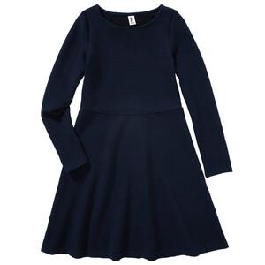 Mädchen Kleid mit langen Ärmeln
