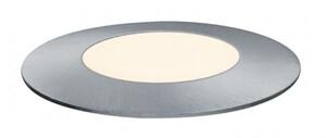 Paulmann Plug & Shine Bodeneinbauleuchte Floor Mini ,  IP65, 3000 K, 2,5 W, 24 V, silber