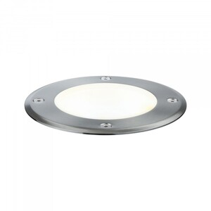 Paulmann Plug & Shine Bodeneinbauleuchte ,  IP67, 3000 K, 20°, 6 W, 24 V, silber, schwenkbar