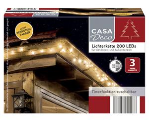 CASA Deco Lichterkette 200 LEDs