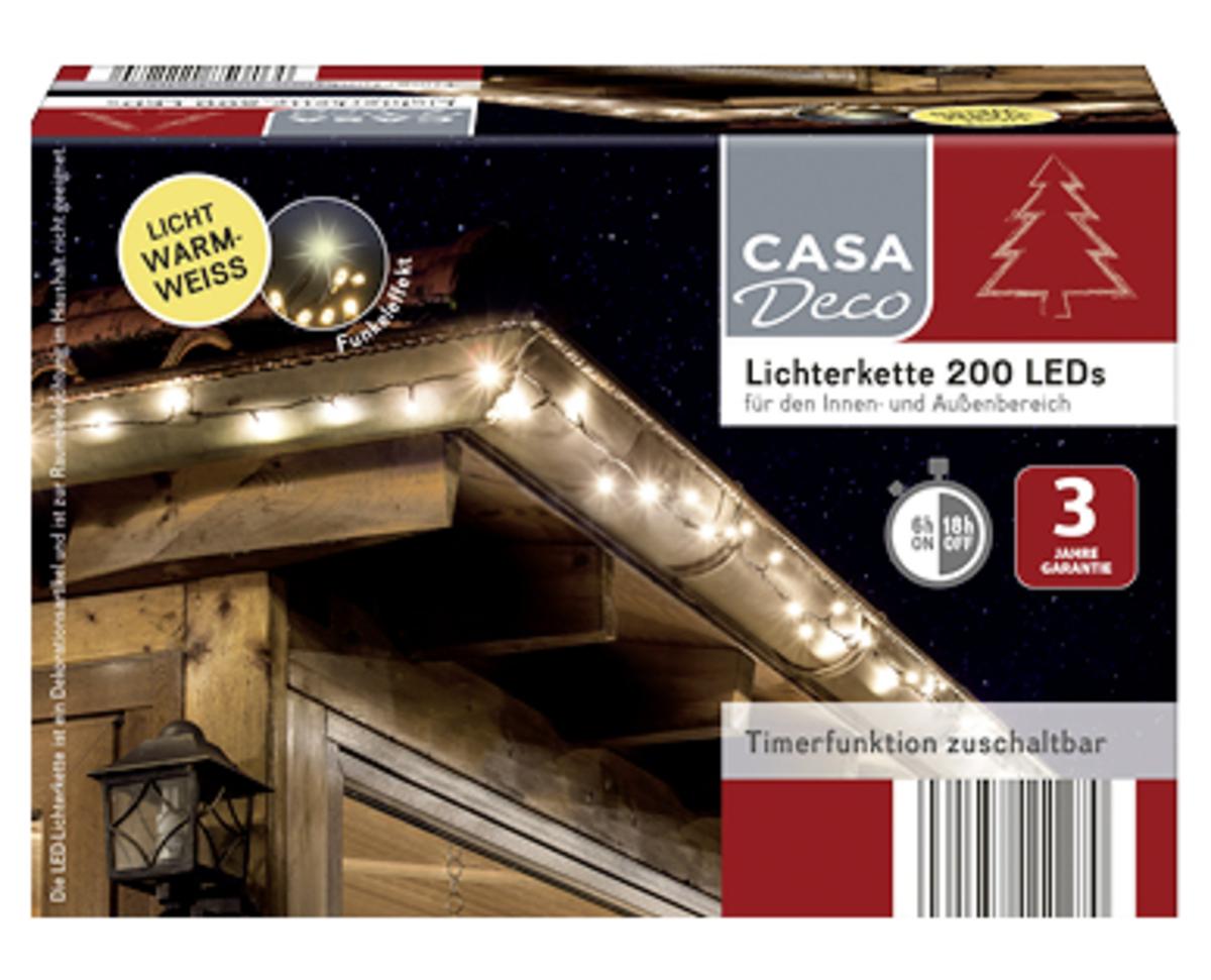 Bild 2 von CASA Deco Lichterkette 200 LEDs
