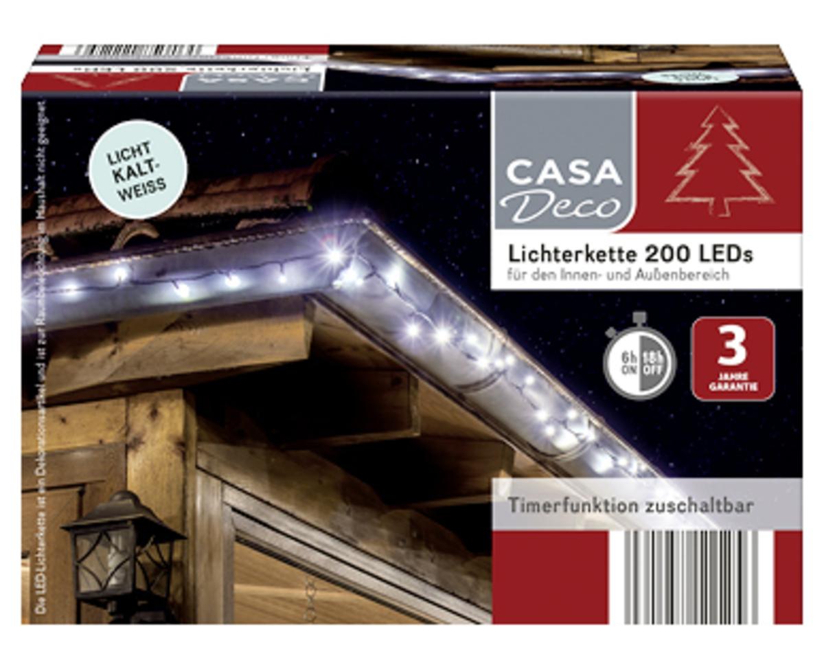 Bild 3 von CASA Deco Lichterkette 200 LEDs