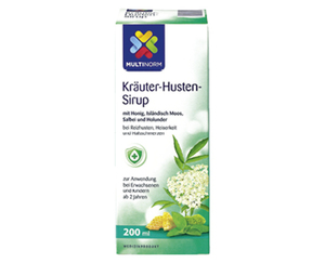 MULTINORM Kräuter-Husten-Sirup