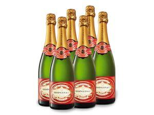 6 x 0,75-l-Flasche Weinpaket Bissinger Champagner Premier Cru