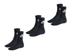 Kappa 3 Paar Unisex Socken