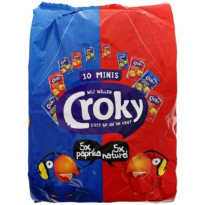 Croky Crazy geriffelte Chips