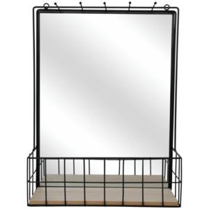 Wandspiegel mit Regal
