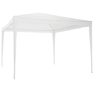Garten Pavillon 3x3m weiß