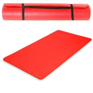 Yogamatte aus Schaumstoff rot 180 x 60 x 1,5 cm