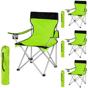 4 Campingstühle grün