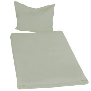 2 Bettwäsche-Sets 200x135cm 2-tlg. grün