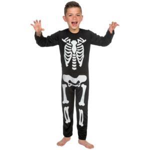 Glow-in-the-dark Skelett-Onesie