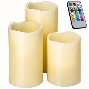 LED-Kerzen mit Fernbedienung und Farbwechsel
