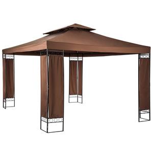 Garten Pavillon Luxus 390x290x265cm braun