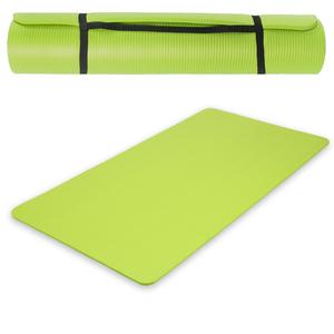 Yogamatte aus Schaumstoff grün 185 x 80 x 1,5 cm