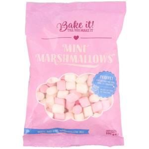 Bake it! Mini-Marshmallows