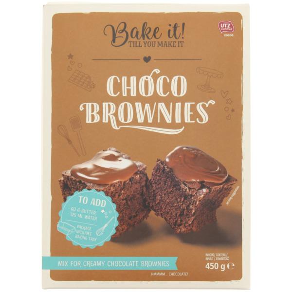 Bake it! Choco Brownies