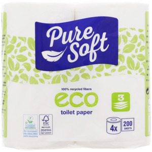 Pure Soft Eco Toilettenpapier