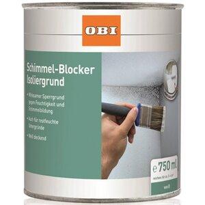 OBI Schimmel-Blocker Isoliergrund Weiß matt 750 ml