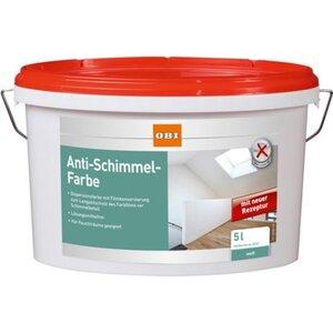 OBI Anti-Schimmel-Farbe Weiß 5 l
