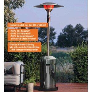 Enders Terrassenheizer Elegance mit 6 kW Eco Green-Brenner