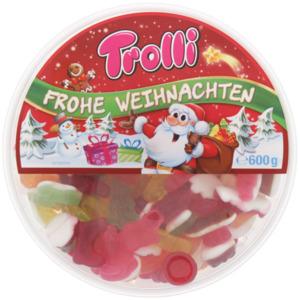 Trolli Süßigkeitenmix Weihnachtsedition