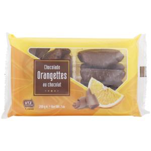 Orangetten in Schokolade