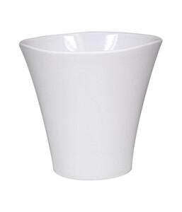 Übertopf aus Keramik, eckig, Ø 15 cm