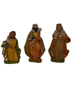 Kolbe Figuren Könige Kunststoff, 12 cm 3-teilig