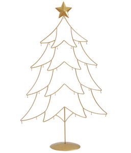 Dehner Metall-Baum Ornament, 69,5 x 111 x 25 cm