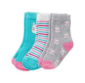 Baby-Mädchen-Socken, 3er Pack
