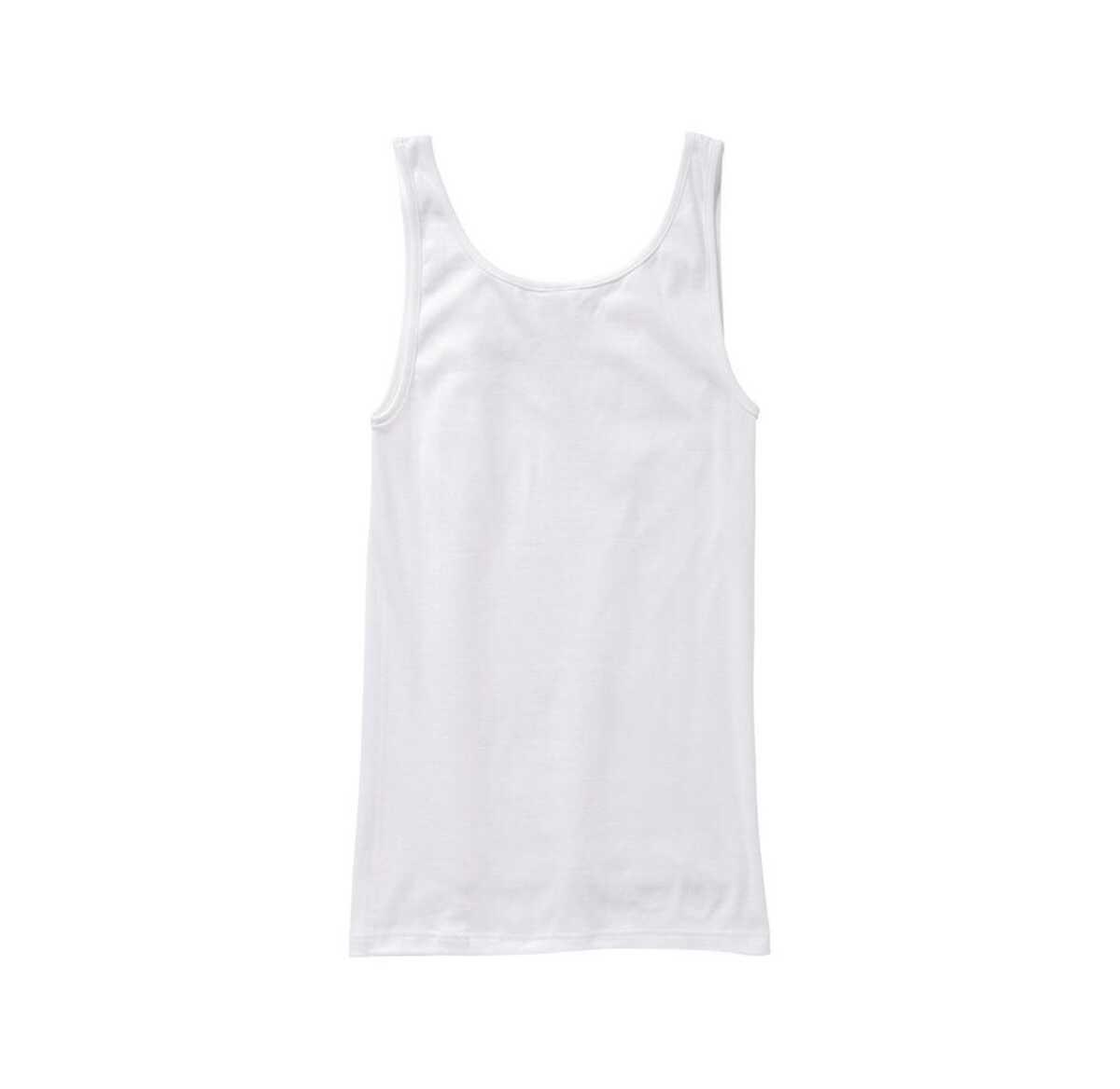 Bild 2 von Damen-Unterhemd mit Spitzeneinsatz