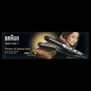 Braun Haarglätter Satin Hair 7 ST 710, schwarz
