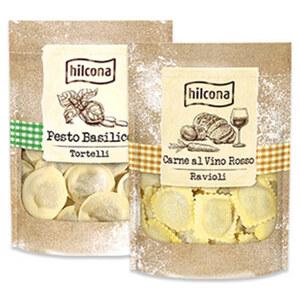 Hilcona Traditionale Frische Pasta gefüllt aus dem Kühlregal jede 250-g-Packung