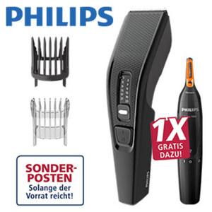 Haarschneider HC3510/85 · Netzgerät · 13 Schnittlängen: 0,5 - 23 mm · 2 Kammaufsätze
