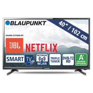 """40""""-FullHD-LED-TV BLA-40/138Q • 3 HDMI-/2 USB-Anschlüsse, CI+ • 2 x 10 Watt RMS • Stand-by: 0,5 Watt, Betrieb: 48 Watt • Maße: H 54,2 x B 92,1 x T 8,4 cm • Energie-Effizienz A+ (Spektrum"""