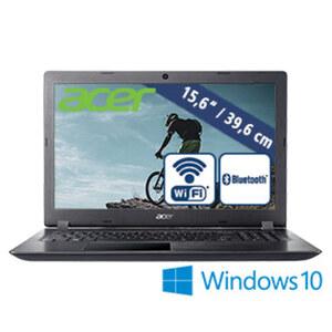 Notebook Aspire 3 (A315-32-C48D) · HD-Display · Intel® Celeron® Prozessor N4000 (bis zu 2,6 GHz) · Intel® UHD Graphics 600 · USB 2.0, USB 3.0