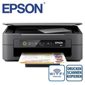 Expression Home XP-2105 · kostengünstig drucken mit separaten Einzelpatronen · kabellos drucken und scannen