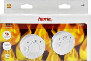 HAMA  Rauchwarnmelder-Set »LM-107A«