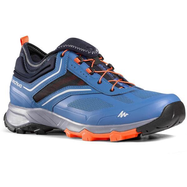 Wanderschuhe Speed Hiking FH500 Helium Herren blau/orange