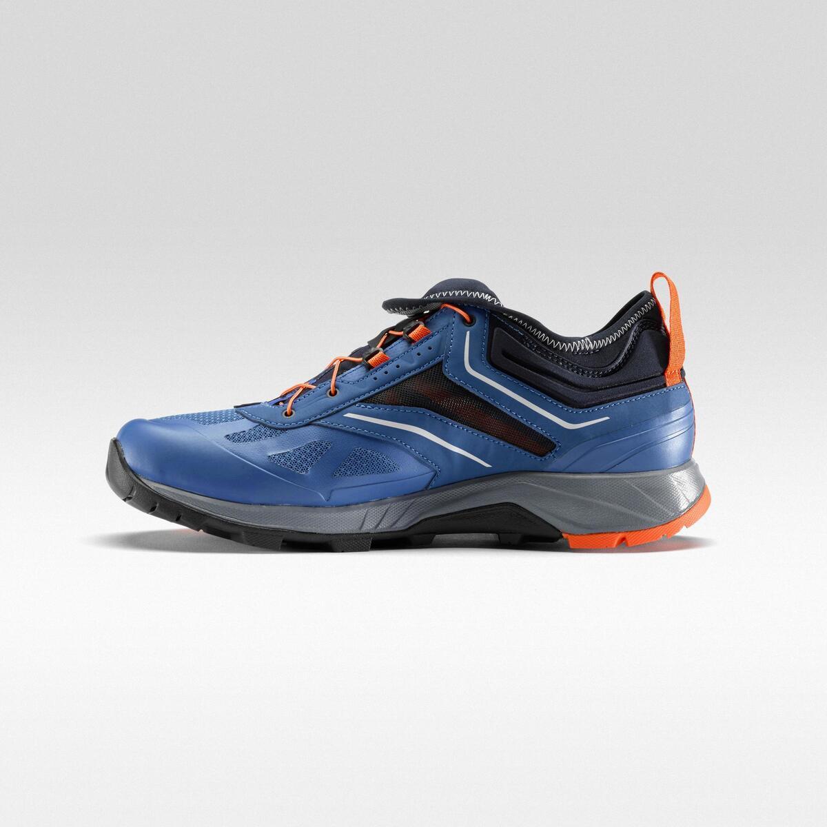 Bild 2 von Wanderschuhe Speed Hiking FH500 Helium Herren blau/orange