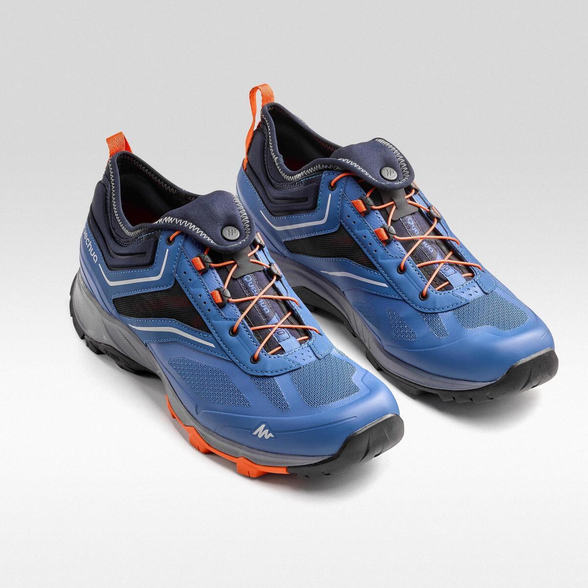 Bild 3 von Wanderschuhe Speed Hiking FH500 Helium Herren blau/orange