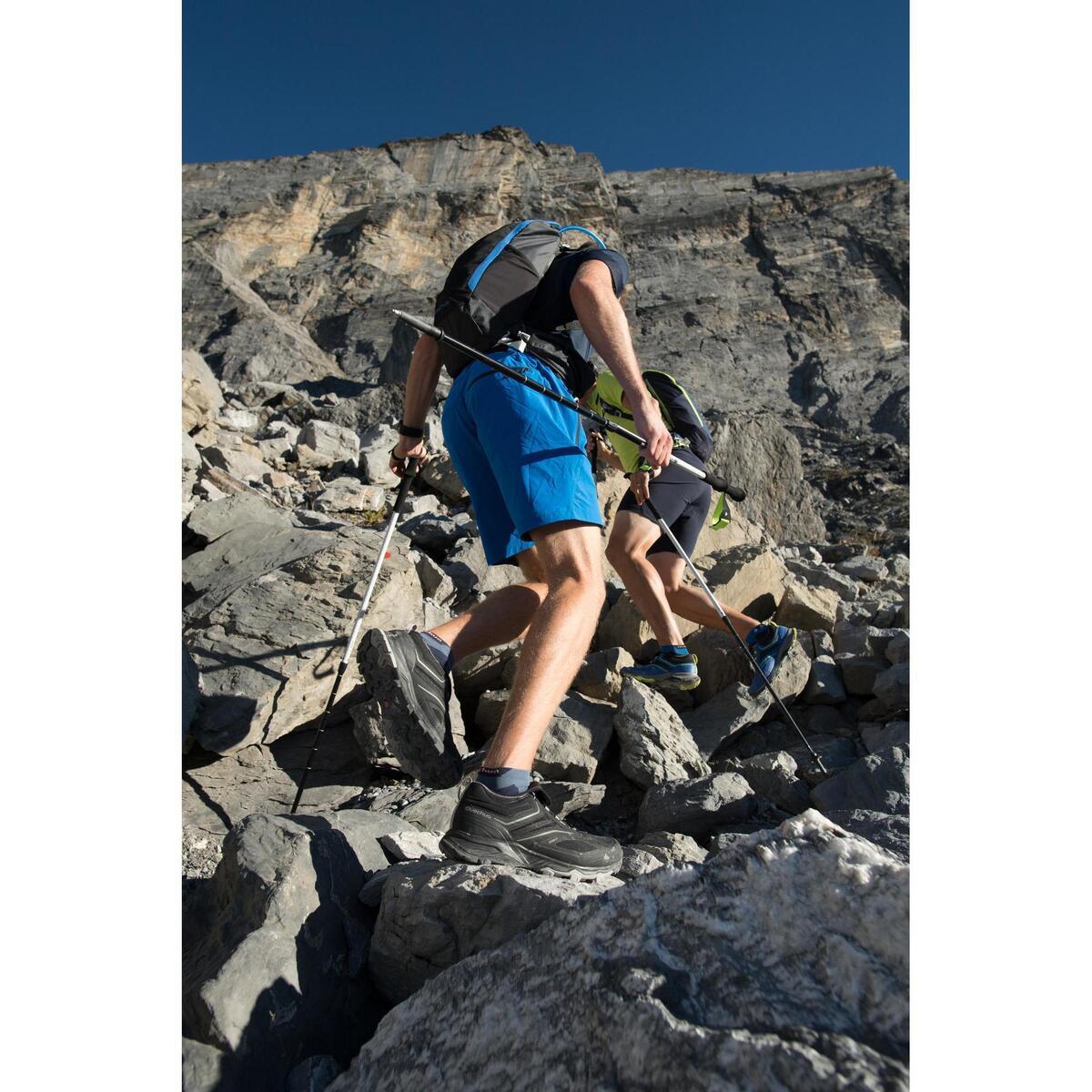 Bild 4 von Wanderschuhe Speed Hiking FH500 Helium Herren blau/orange