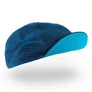 Fahrrad-Mütze Rennrad RR 500 blau