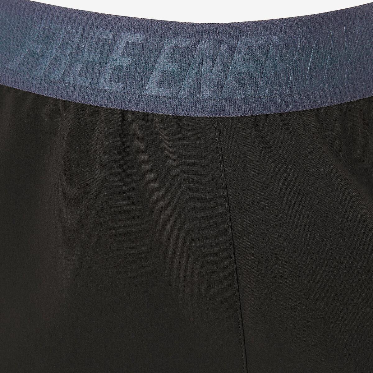 Bild 5 von Sporthose kurz W900 Gym Kinder schwarz mit Print